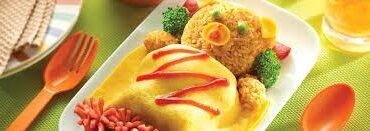 Resep Makanan Anak Nasi Goreng Beruang Tidur