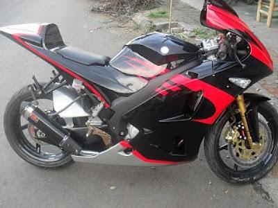 Yamaha New Vixion di Modifikasi Sport