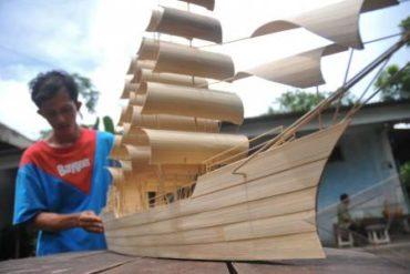 Kerajinan Tangan Dari Bahan Bambu Yang Beraneka Ragam