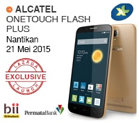 Flash Sale Lazada untuk Phablet Alcatel One Touch Plus Siap Digelar
