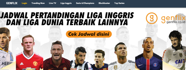 layanan streaming liga champions