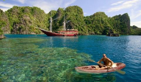 Tempat Wisata di Papua dan petualangan darat di Raja Ampat