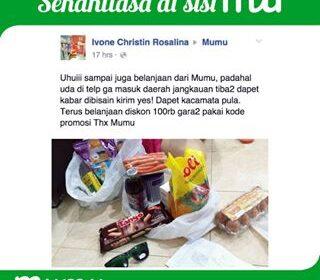 Mau Belanja di Robinson Jakarta Selatan? Lewat Mumu Saja!