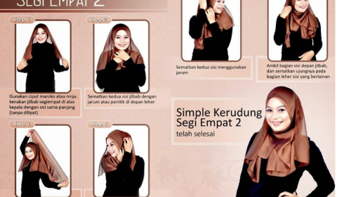 tips-mudah-cara-memakai-hijab-segi-empat-modern