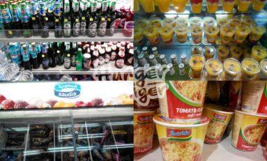 Makanan Mudah Didapatkan, Tinggal Pilih Saja Di Toko
