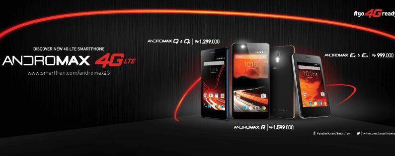 Andromax 4G LTE Smartphone Harga Terjangkau