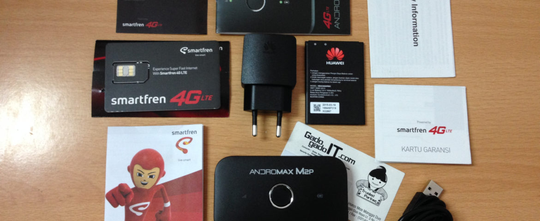 Internetan Lancar dengan Modem Wifi Andromax M2P