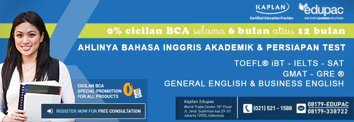 Pilihan Terbaik Untuk Menguasai Bahasa ada di SAT Preparation Jakarta