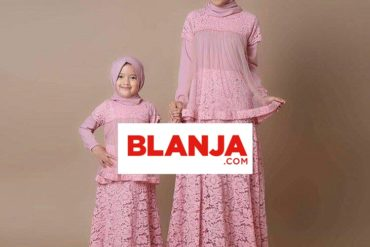 Gamis Muslim Anak 3 - 7 Tahun, Couple With Mom