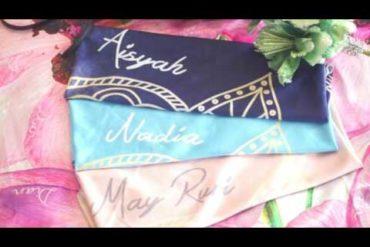 Kualitas Trebaik Hijab Printing Snapy