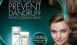 Tips Mengatasi Gatalnya Kulit Kepala Dengan Shampo Clear