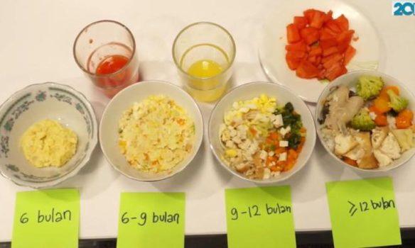 Resep Menu MPASI Super Simple Untuk Bayi 6 Bulan
