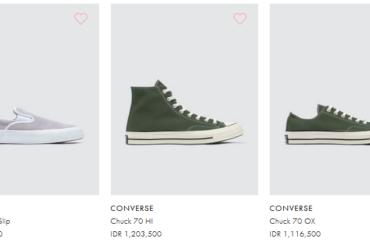 Mengetahui Ciri Sepatu Converse Original