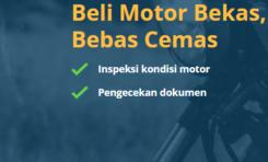 Motoran Menjual Motor Bekas Bebas Cemas