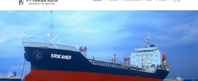 Hasil gambar untuk Mengenal Industri Transportasi Laut PT Parna Raya