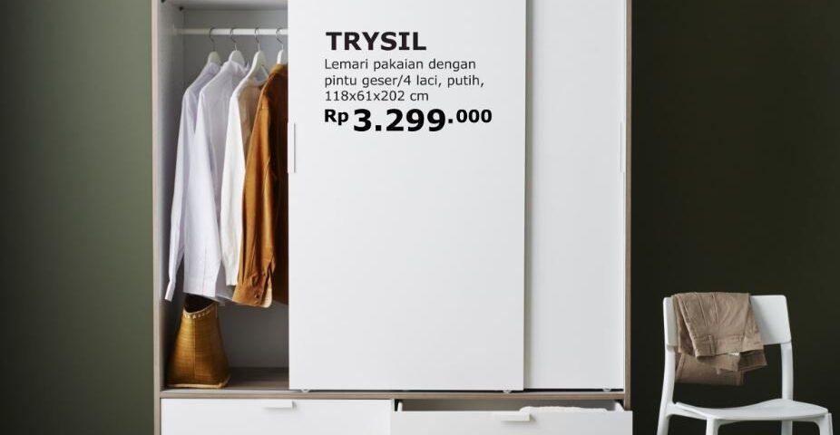 Model Lemari Pakaian Berkualitas dari IKEA