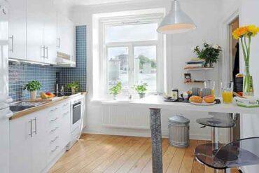 Tips Memilih Desain Dapur Untuk Keluarga Berukuran Kecil