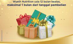 Cara Mengikuti Program Hadiah dari Wyeth Nutritions